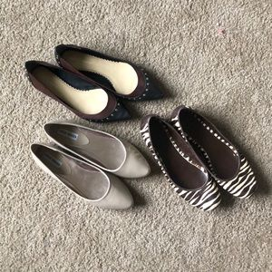‼️SALE‼️ Bundle of Size 9 Flats